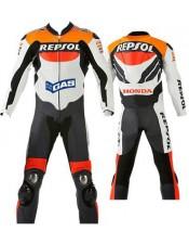 Repsol Honda Leather Motorbike Suit